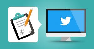 Twitter keyworded post creation
