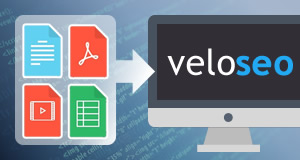 Digital asset upload/update on Veloseo