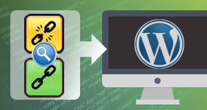Link investigation and replacement on WordPress