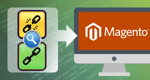 Link investigation and replacement on Magento
