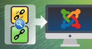 Link investigation and replacement on Joomla